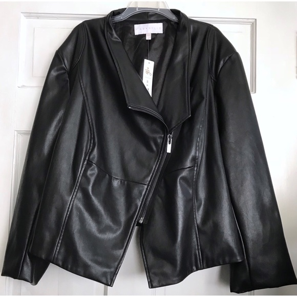 Marybelle Jackets & Blazers - Faux Leather Jacket